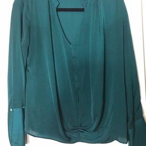 Zara Emerald Green Top | Size M